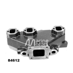Collecteur d'échappement Mercruiser 4.3L 864612T01, 99746A17 (Joint sec / dry)