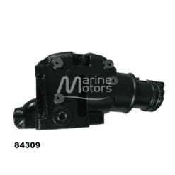 Coude d'échappement Mercuiser 865735A02, 864309T01, 864309T02 V6 et V8 de 4 pouces 7 ° (Joint sec / dry)