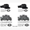 Kit Complet Collecteurs 84612 + Coudes 84309 Mercruiser 4.3L V6 262- 2003 et +  (Joint sec / dry)