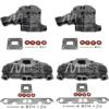 Kit Complet Collecteurs 5735 + Coudes 4591 Mercruiser 5.0l, 5.7l, 6.2l V8 2002 et + - (Joint sec / dry)