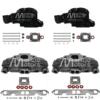 it Complet Collecteurs 5735 + Coudes 84309 Mercruiser 5.0l, 5.7l, 6.2l V8 2002 et + - (Joint sec / dry)