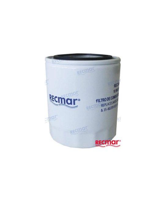 REC24942 - Filtre essence séparateur d'eau 10 microns long Mercruiser 35-802893Q01 / Volvo Penta 855686/ OMC 0509532