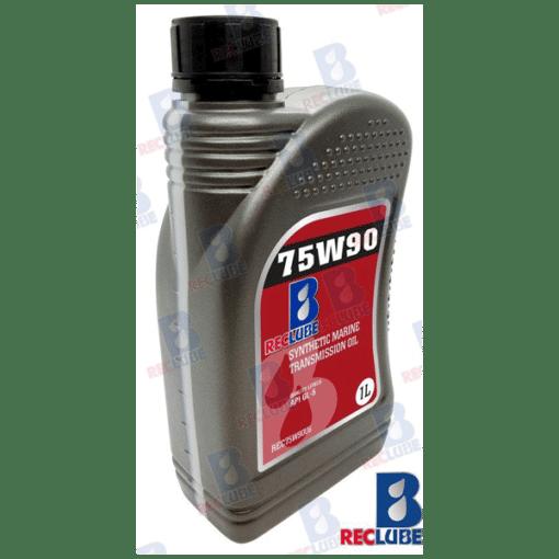 REC75W901L - Huile 75W90 Synthétique 1L