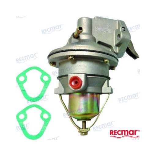 Pompe à essence mécanique Mercruiser Moteurs V6 Numéro de commande: REC862077A1 Égal à: 18-7284 Mercruiser OEM: 41141A2, 862077A1, 8M0073435 OMC OEM: 0509407, 0509408 ProTorque OEM: PH500-M056