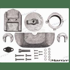 CMALPHAKITA - Kit anode Mercruiser 888756Q01 ALPHA ONE GEN II aluminium
