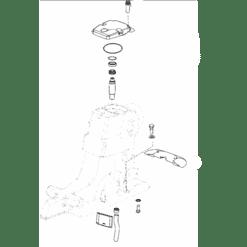 REC828692A1 - Kit capot supérieur ALPHA ONE GEN II (1996+)