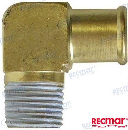 REC3852538 - RACCORD COUDE LAITON POUR COLLECTEUR ECHAPPEMENT - 3852538