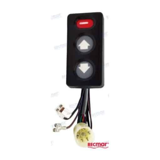 interrupteur de trim pour Volvo Penta DP-D1 / DP-C / DP-E / DP-G / DPX SP-C1 / SP-E SX référence : 3855560, 3855650