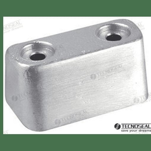 TEN00919 - Anode plaque cobra cf 50 - Zinc - OMC 385393 / Volvo Penta 3853930
