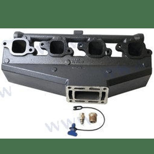 52362 - Collecteur d'échappement Volvo Penta / OMC V8 7.4L et 8.2L - ORIGINAL - (Joint humide/ wet)