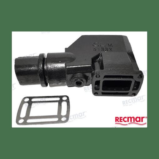 REC3855271 - Coude d'échappement Ford - GM V8 5.7L - (Joint humide / wet)