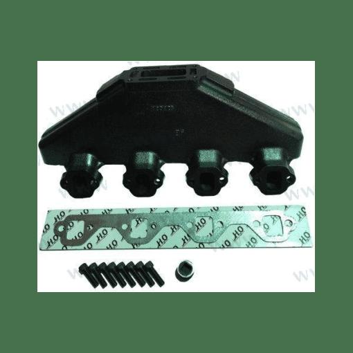 HOT20996 - Collecteur d'échappement Indmar - FORD V8 5.0L et 5.8L - (Joint humide / wet)