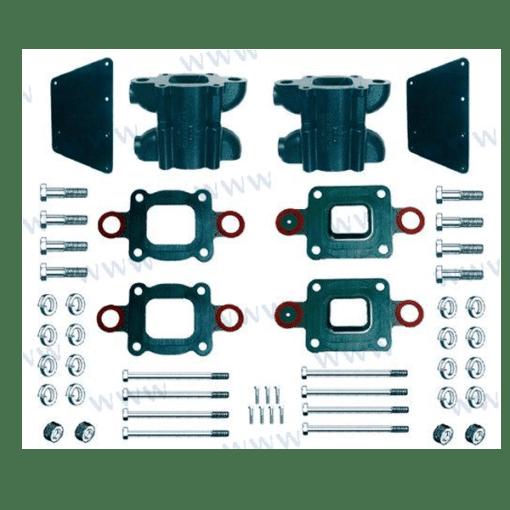 """BAMC-20-864908A1 - Kit rehausse 6"""" - Mercruiser 864908A1 - (Joint sec / dry)"""
