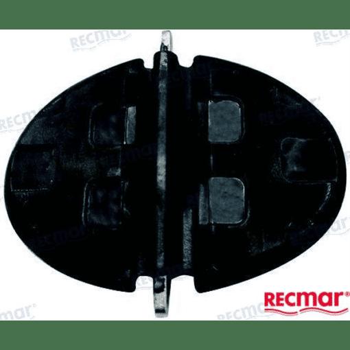 REC60930 - Clapet échappement - GM L4 3.0L et V8 - Mercruiser 60930