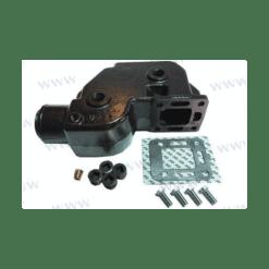 HOT20978 - Coude d'échappement Mercruiser - L4 et V8 (Joint humide / wet)