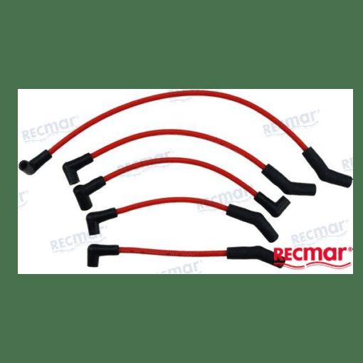 REC15-405 - Kit faisceau de bougie - GM L4 3.0L - Mercruiser 802506 / Volvo Penta 3851815 / OMC 0503749