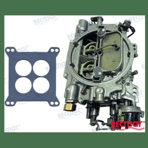 807262R02 - CARBURATEUR NEUF 600 CFM - EDELBROCK - GM V6 et V8 - Mercruiser 807262R02