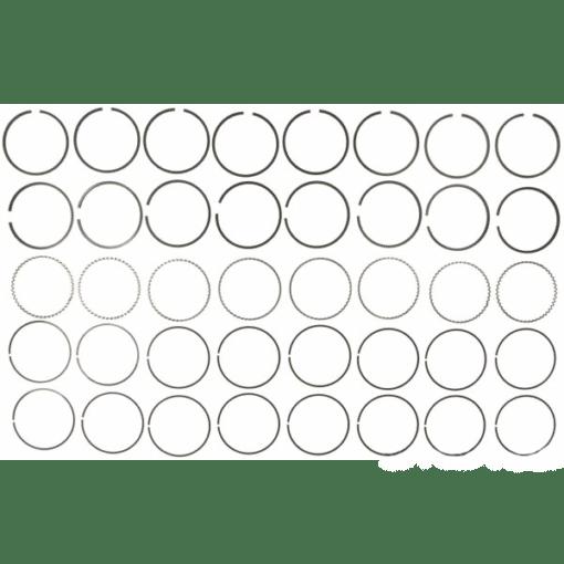RCK-40203CP - Kit segments pour 8 pistons - 0.030 - Mercruiser 39-67128